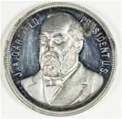 JAMES A. GARFIELD MEMORIAL TOKEN