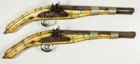 African Bone-handled Pistols