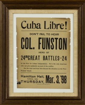 Cuban Revolution Broadside