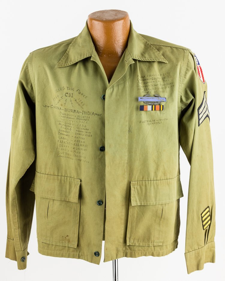 MARS TASK FORCE SERGEANT'S JACKET WITH THEATER MADE