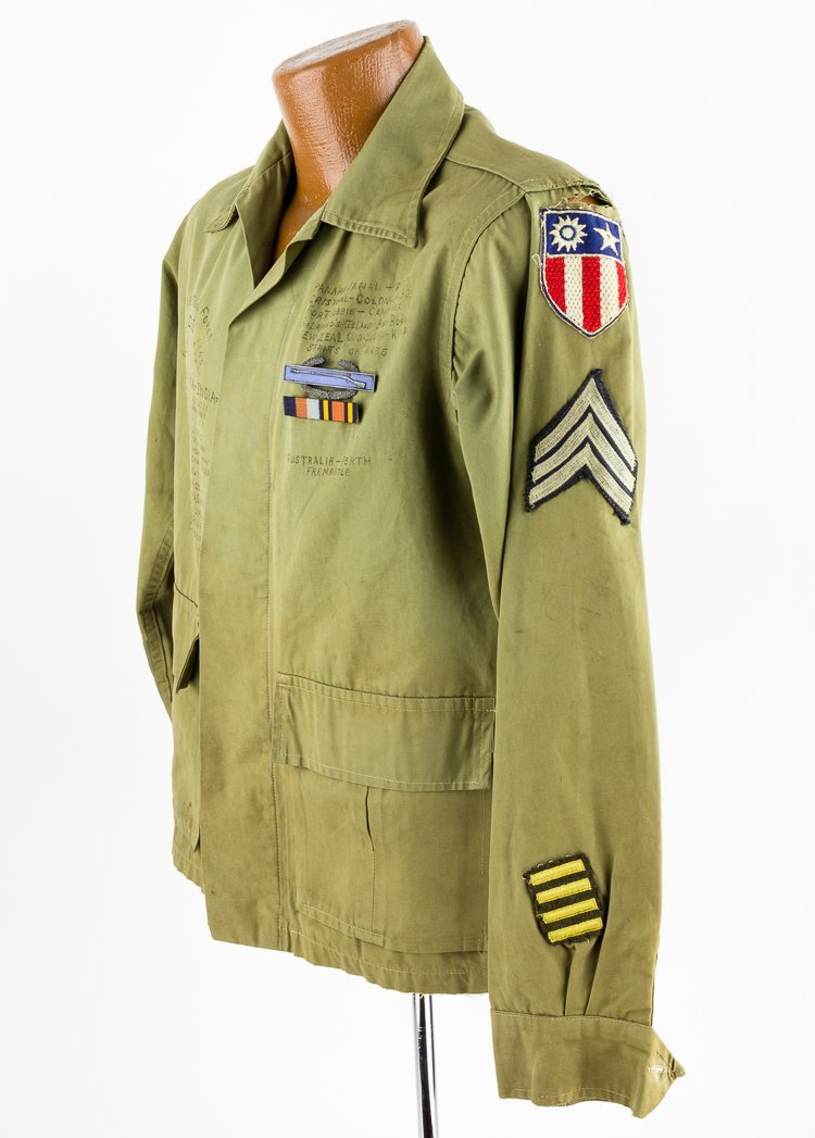 MARS TASK FORCE SERGEANT'S JACKET WITH THEATER MADE - 2
