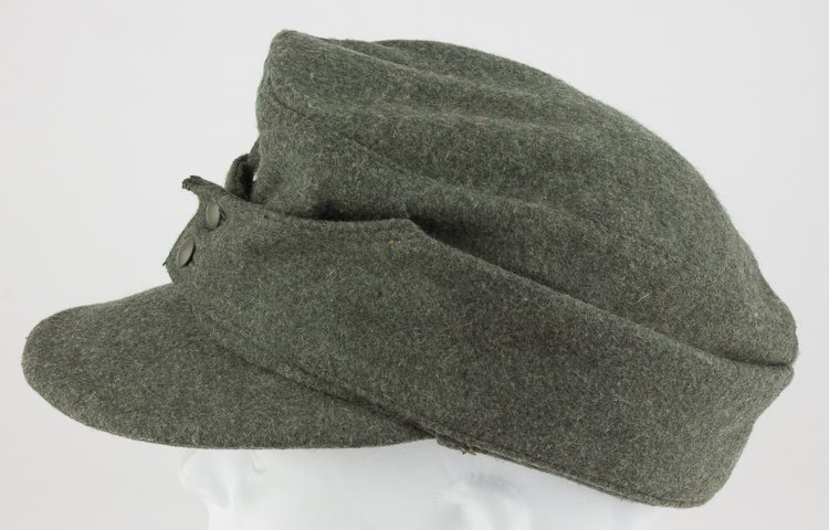 GERMAN NCO/ENLISTED MAN'S M43 FIELD CAP - 5