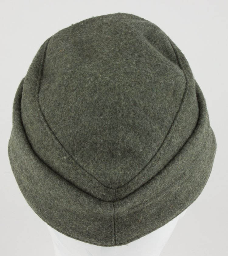 GERMAN NCO/ENLISTED MAN'S M43 FIELD CAP - 6