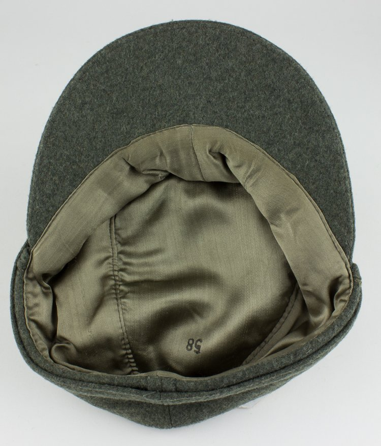 GERMAN NCO/ENLISTED MAN'S M43 FIELD CAP - 9
