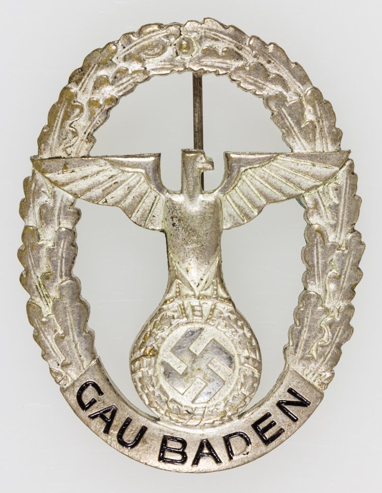 GAU BADEN HONOR BADGE
