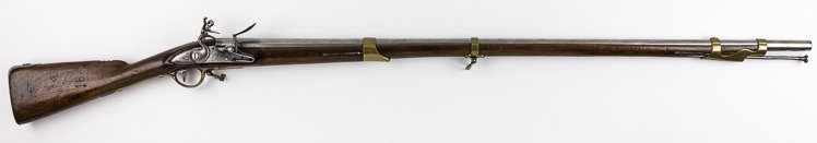 IDENTIFIED FRENCH-MADE MUSKET, USED BY AN AMERICAN