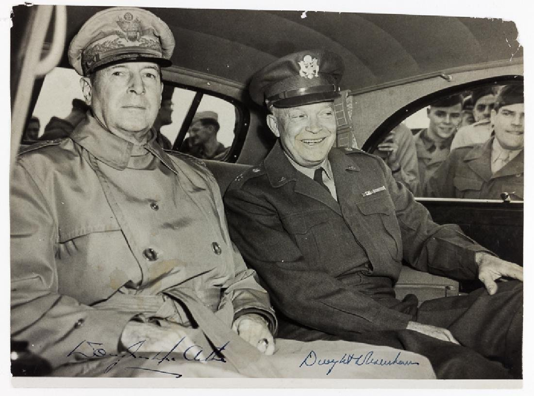 DWIGHT D. EISENHOWER AND DOUGLAS MACARTHUR