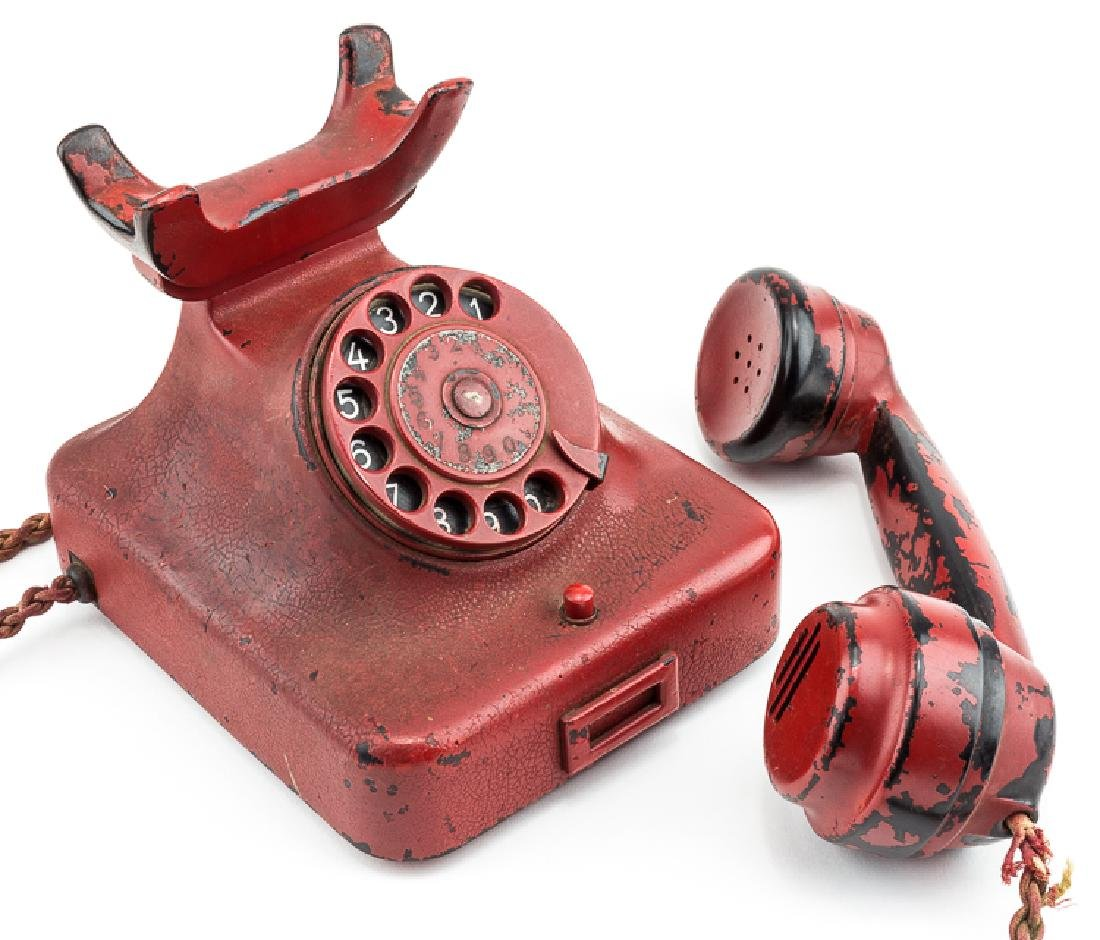 ADOLF HITLER'S PERSONAL PRESENTATION TELEPHONE, - 11