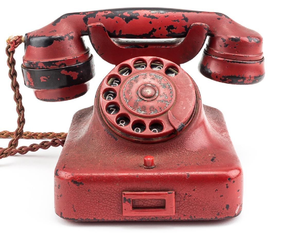 ADOLF HITLER'S PERSONAL PRESENTATION TELEPHONE,
