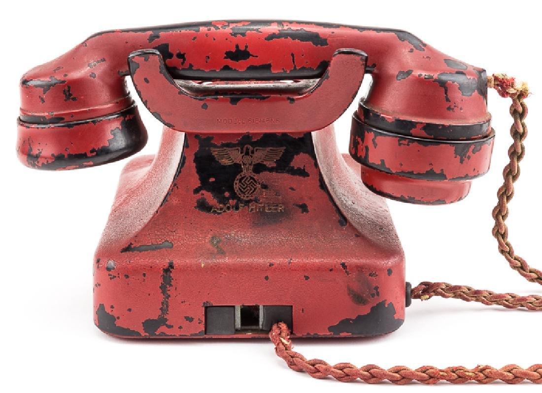 ADOLF HITLER'S PERSONAL PRESENTATION TELEPHONE, - 5