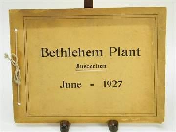 Spirit St Louis Lindbergh Flight Bethlehem Steel