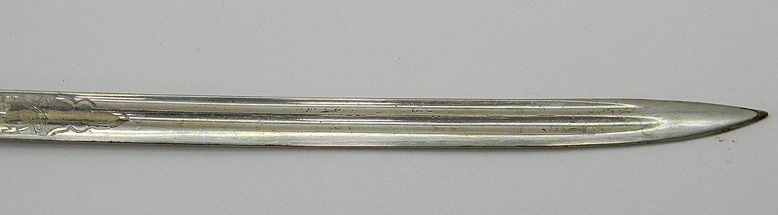 19th C. US Marine Mameluke Sword M1875 Carr Mears - 3