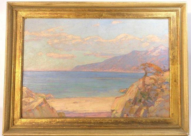 Vasily Krichevsky Black Sea Landscape Painting
