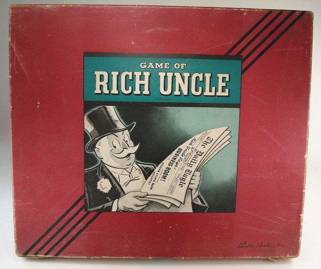 1946 Rich Uncle Game Parker Brothers Inc.