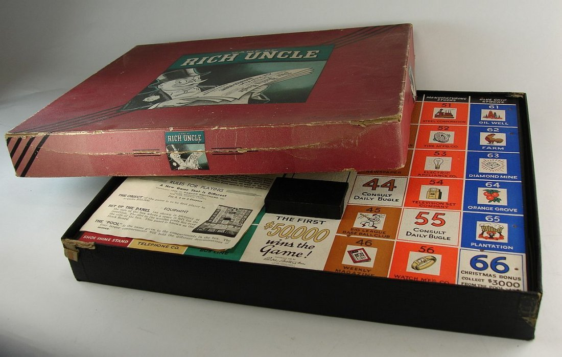 1946 Rich Uncle Game Parker Brothers Inc. - 2