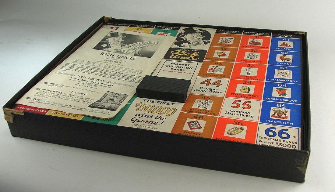 1946 Rich Uncle Game Parker Brothers Inc. - 4
