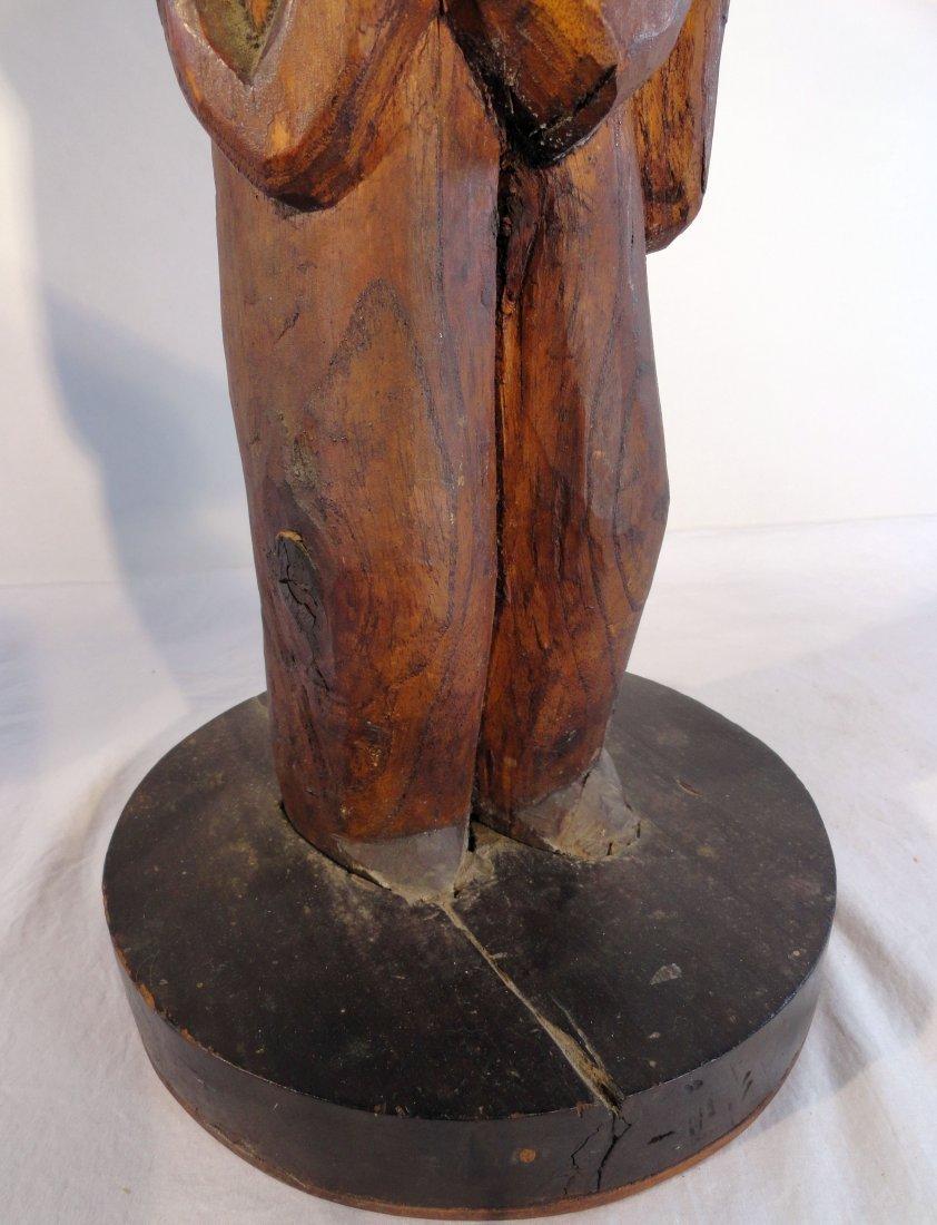 Very Rare Easter Island Moai Kavakava Double Figure - 10