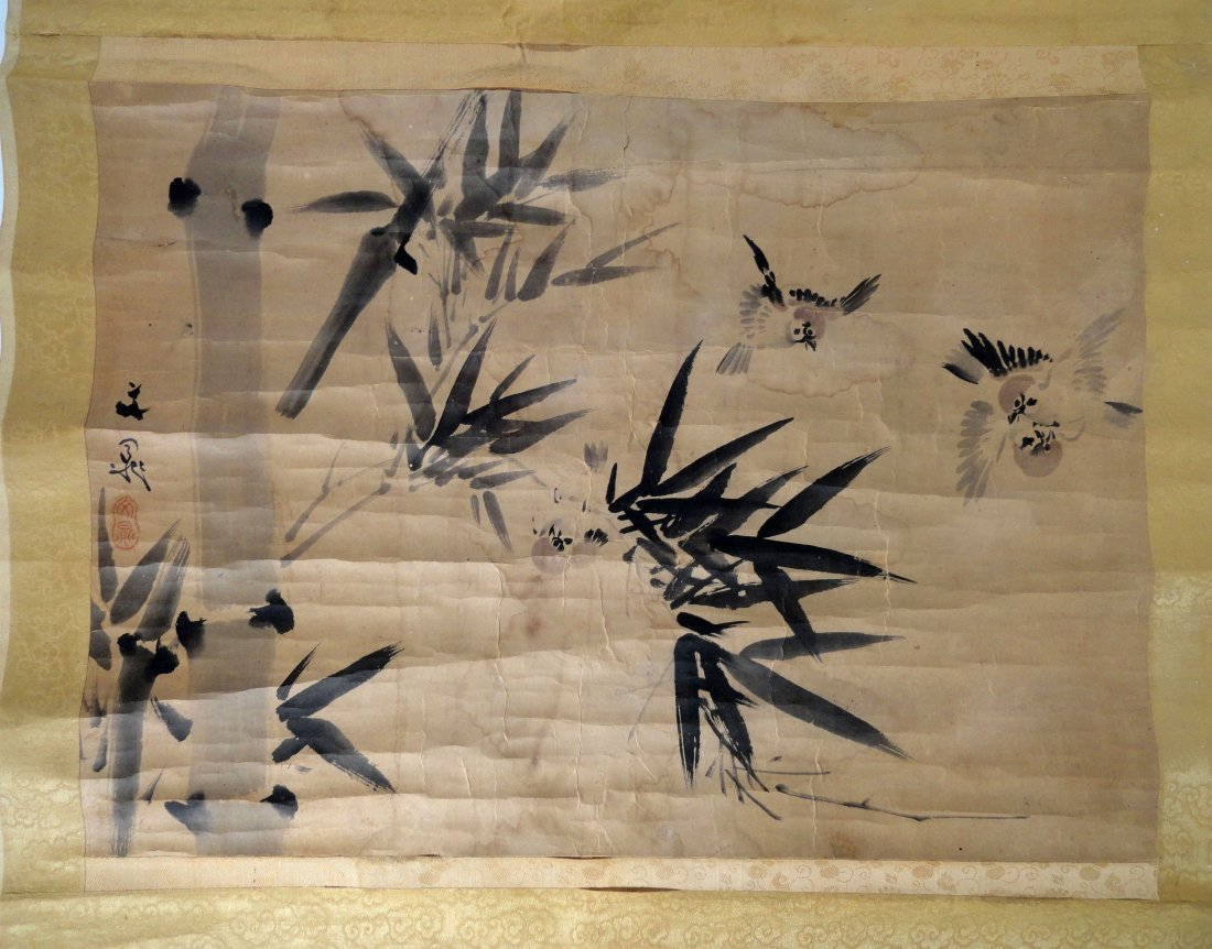 Japanese Scroll Attributed to Tani Buncho Edo