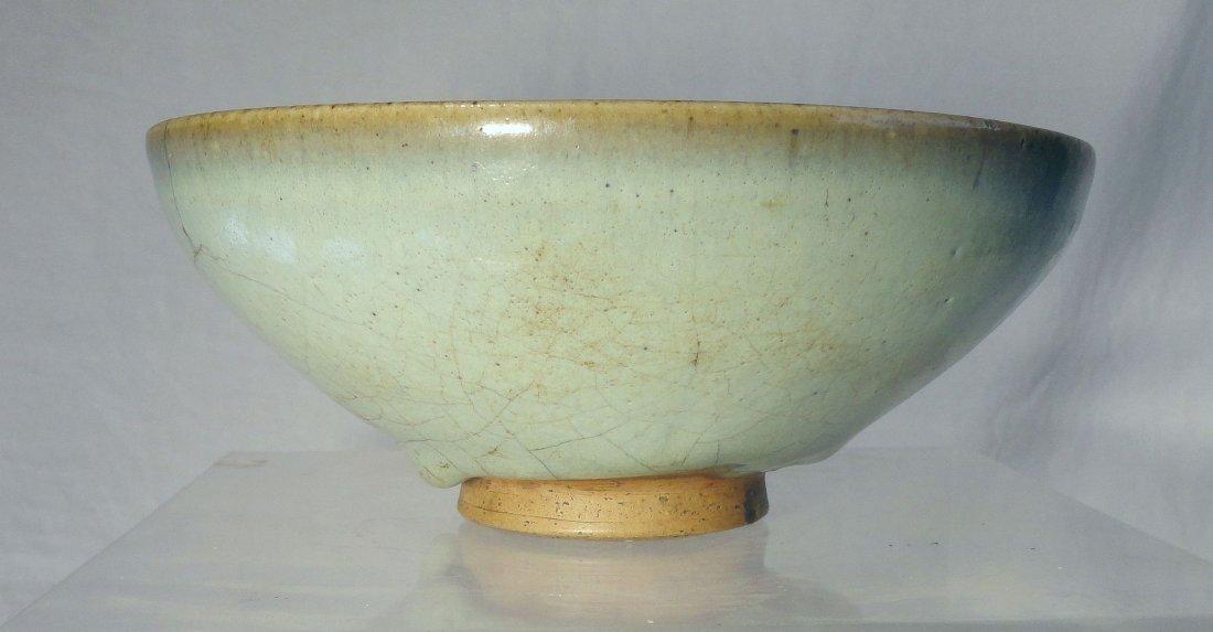 Fine Chinese Pale Blue Jun Yao Yuan Dynasty Bowl
