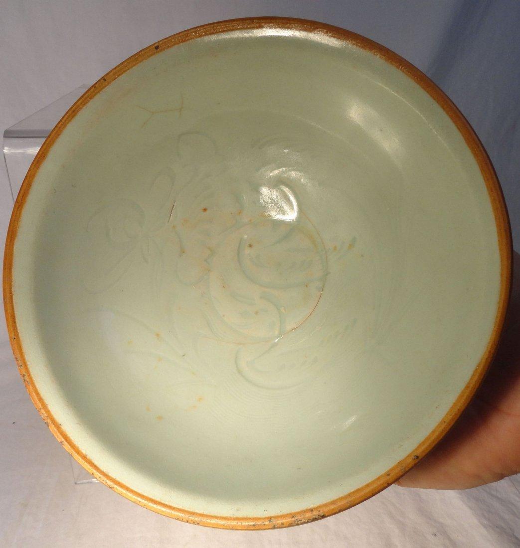 Chinese Qingbai Yuan Dynasty Bowl Two Ducks  Lotus