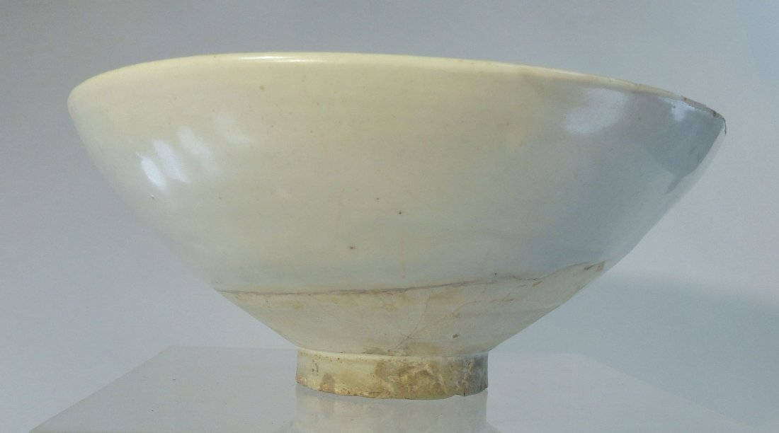 Antique Chinese Song Dynasty Dingyao Ding Bowl