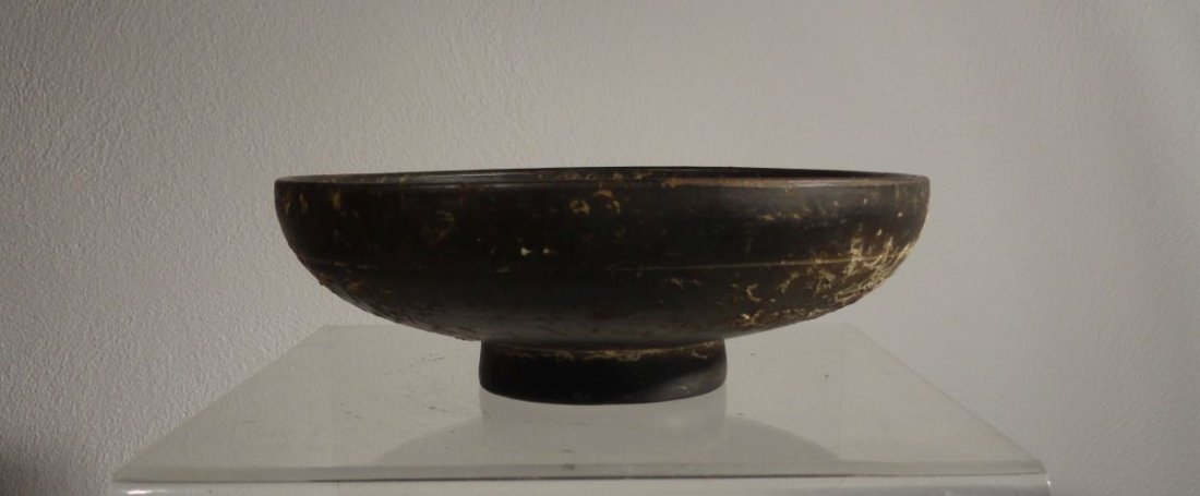 Greek Greco-Roman Campanian Kylix Incised Decoration - 3