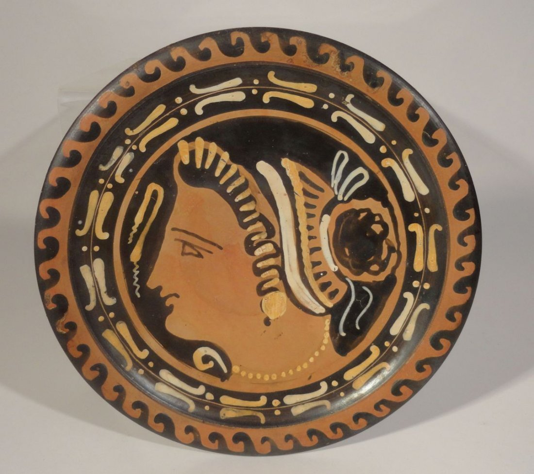 Greco-Roman Greek Apulian Pottery Lady of Fashion