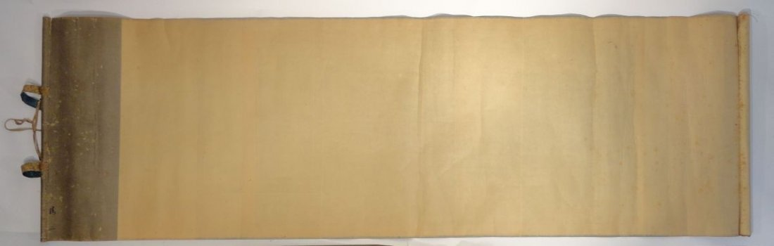 Japanese Scroll Signed  Dragon Clouds Red Seal Mark - 10