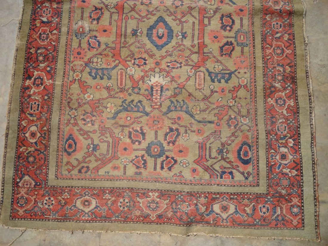 Antique Persian Mahal Rug 19th or 20th Century Area Rug - 2