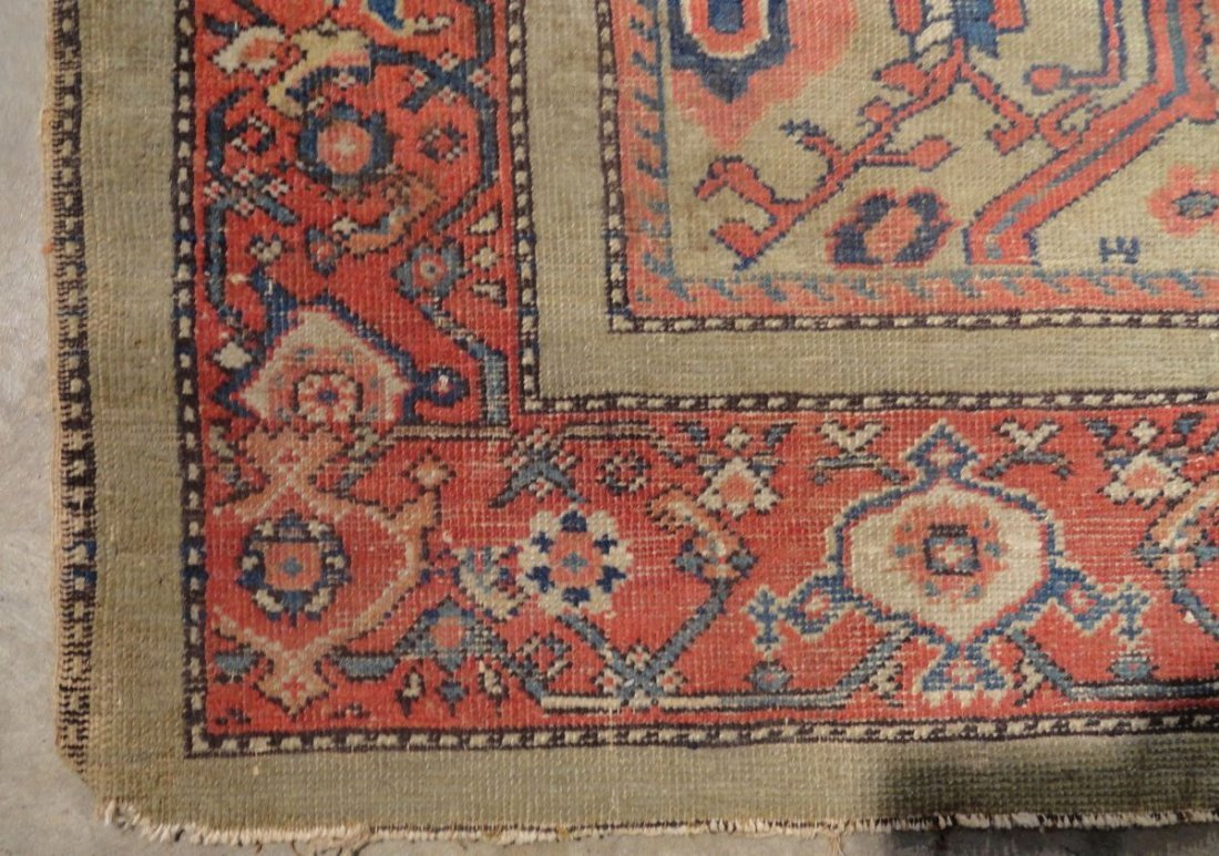 Antique Persian Mahal Rug 19th or 20th Century Area Rug - 4