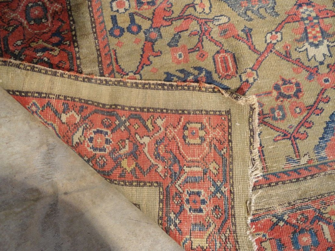 Antique Persian Mahal Rug 19th or 20th Century Area Rug - 6