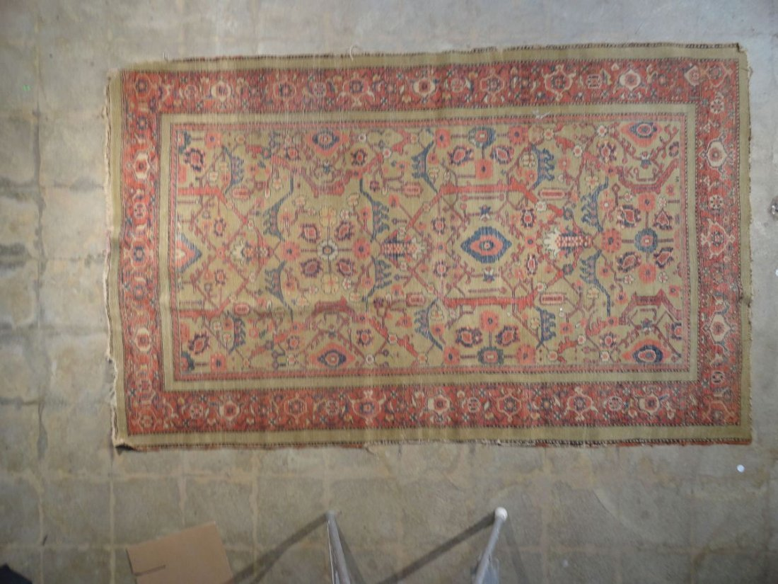 Antique Persian Mahal Rug 19th or 20th Century Area Rug - 7