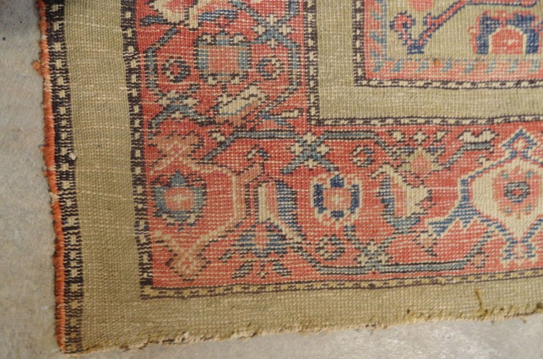 Antique Persian Mahal Rug 19th or 20th Century Area Rug - 8