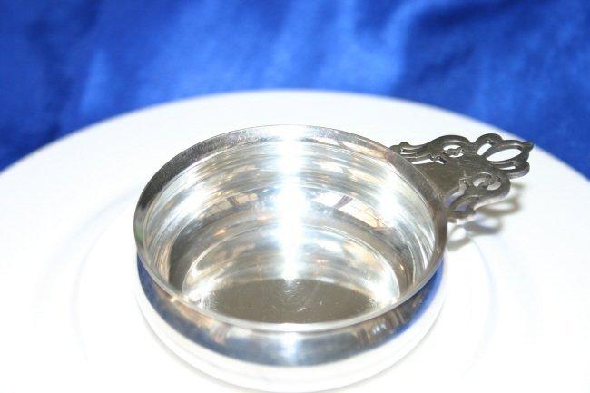 Lunt Sterling Silver Wine Tastevin #581