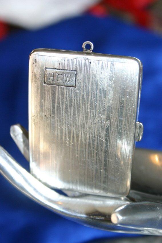 Art Deco Sterling Silver Case