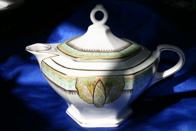 Art Deco M & Z Bohemia Teapot