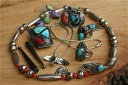 Vintage Native American Lot of 10.