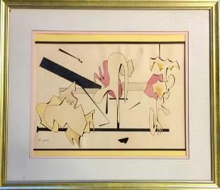 ARSHILE GORKY MIXED MEDIA ON PAPER V$52,000