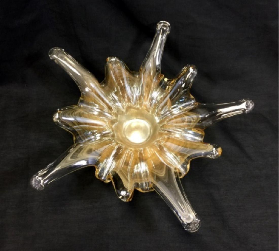 ART DECO MURANO GLASS BOWL