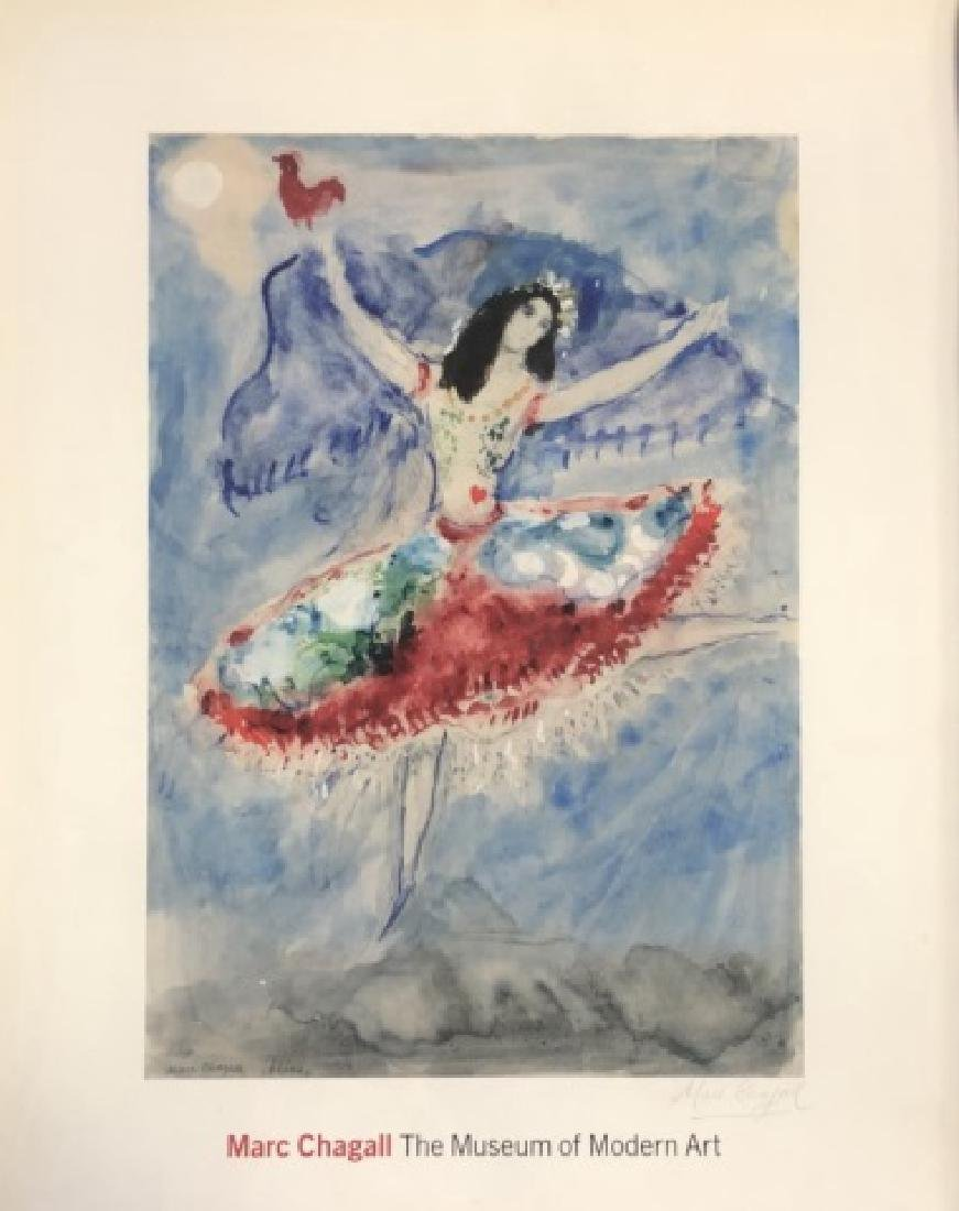 1957 SIGNED MARC CHAGALL LITHOGRAPH V$900