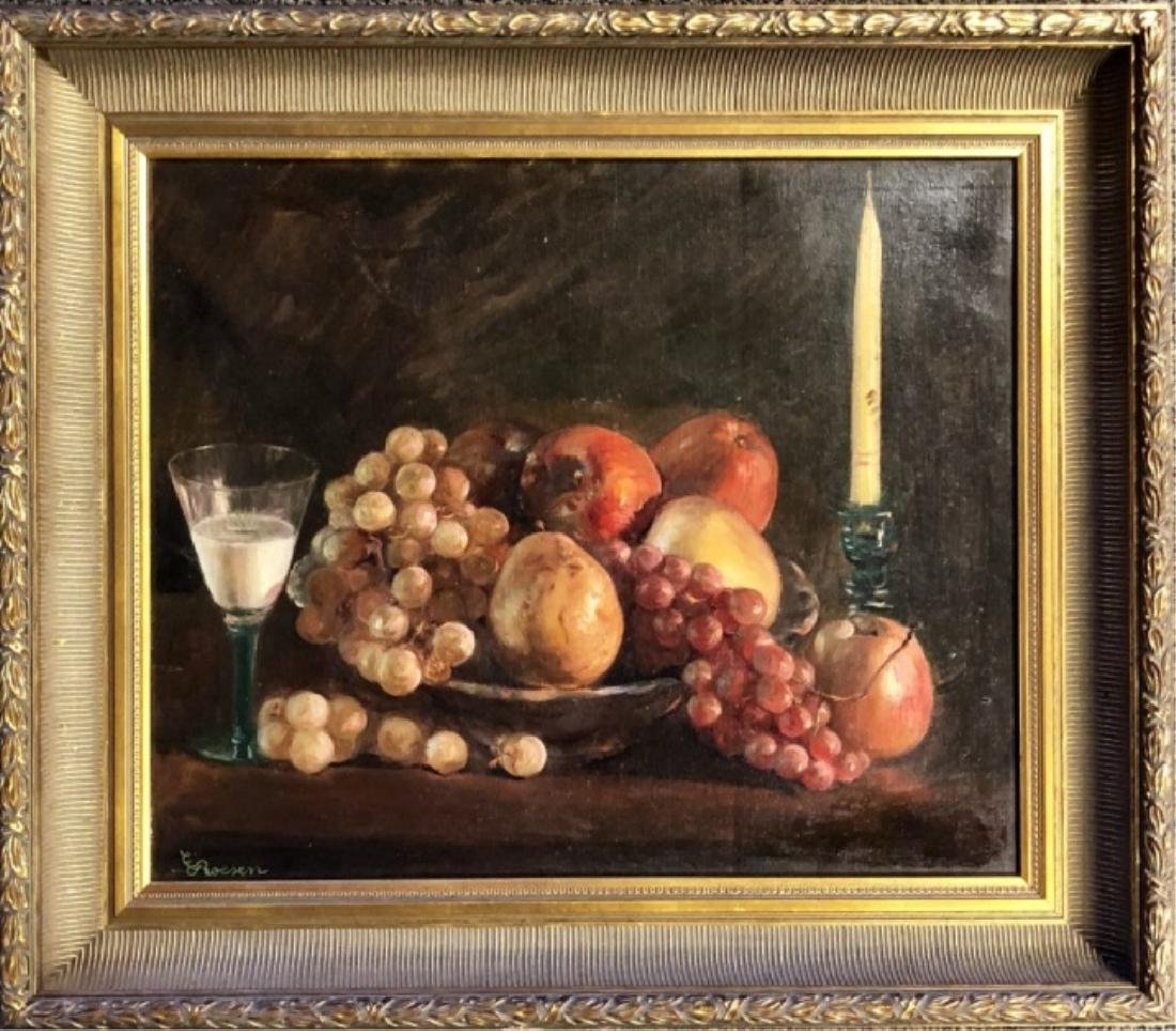 SEVERIN ROESEN OIL ON CANVAS V$27,000