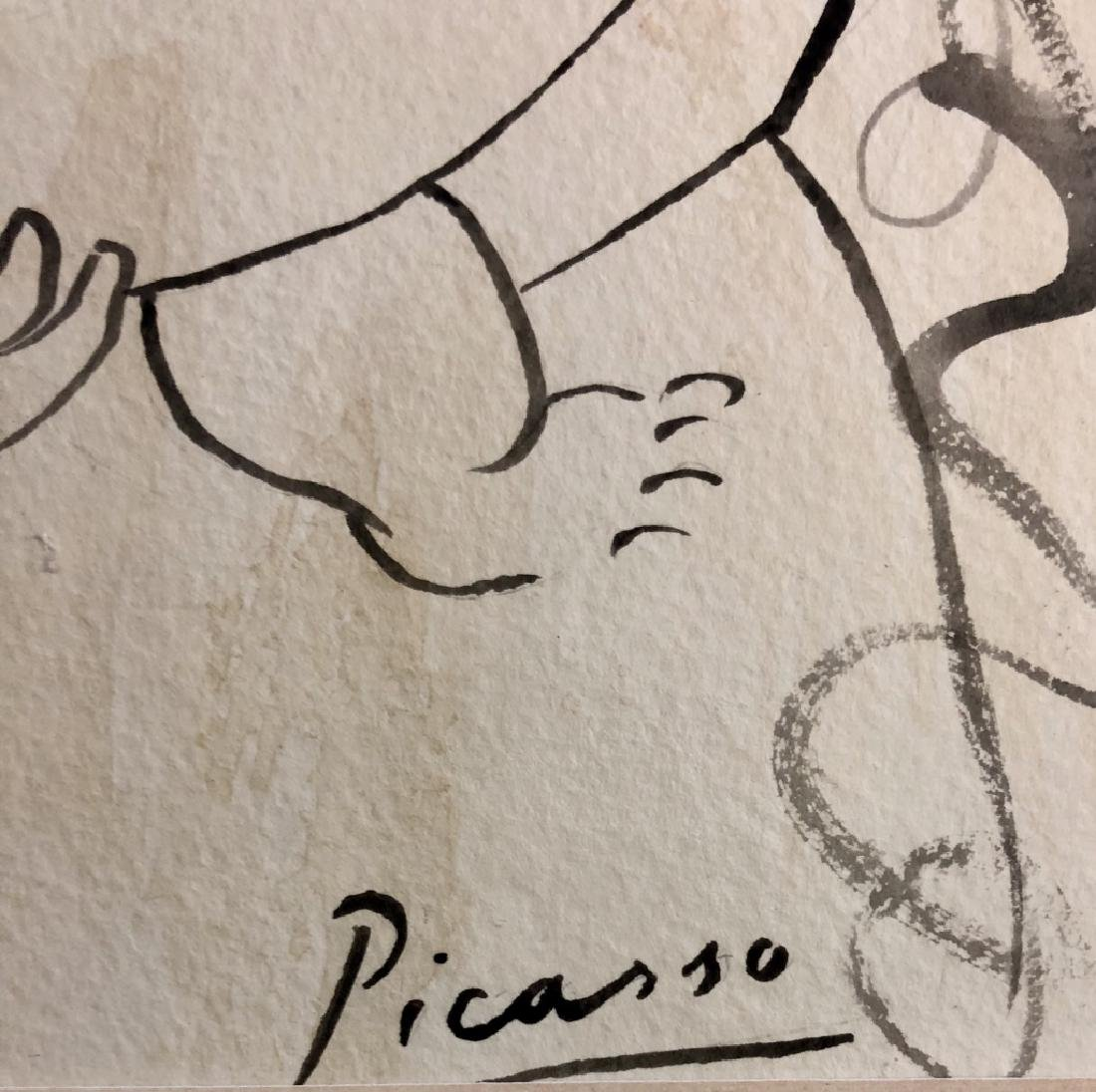 PABLO PICASSO INDIA INK ON PAPER V$9,200 - 3