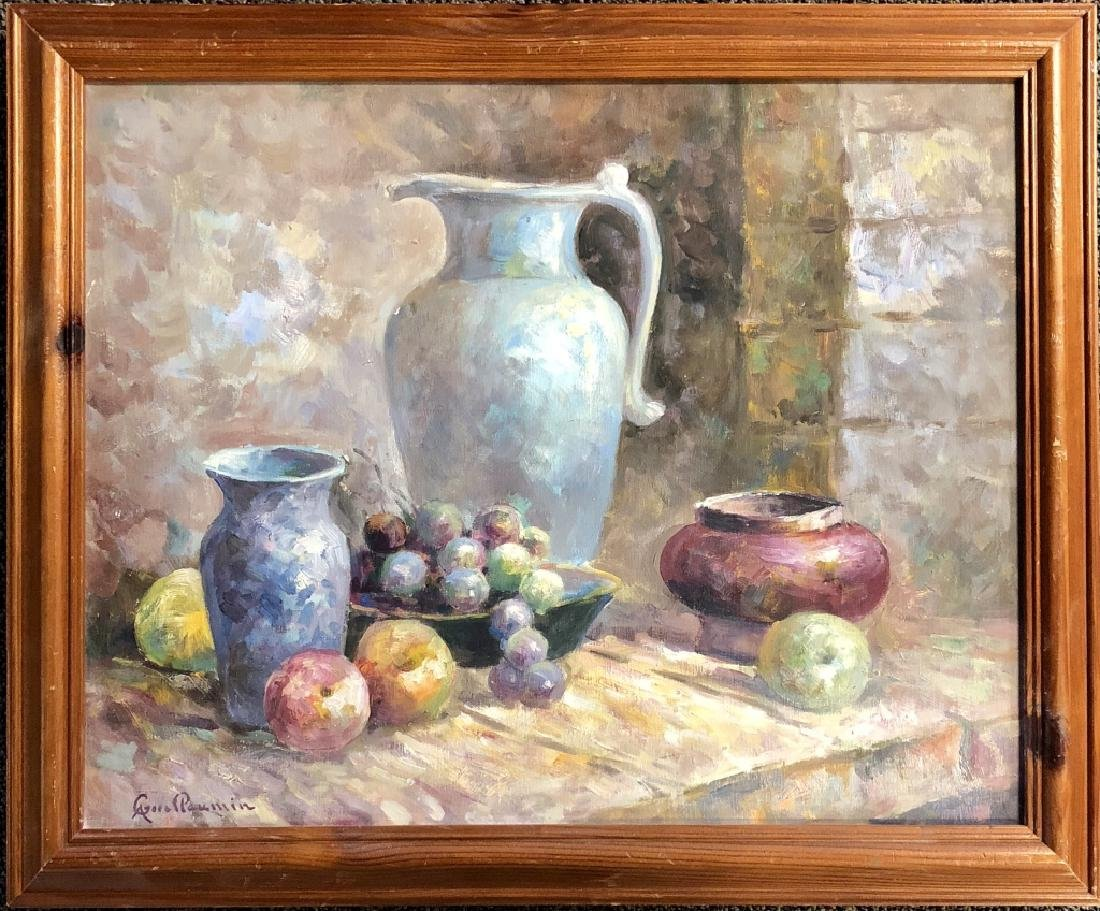 ARMAND GUILLAUMIN OIL ON CANVAS STILL LIFE V$4,000 - 2