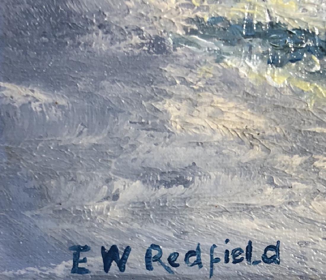 EDWARD REDFIELD OIL ON CANVAS V$9,500 - 3