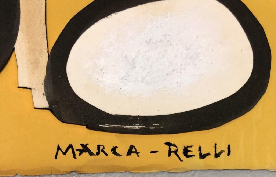 CONRAD MARCA -RELLI ABSTRACT COLLAGE V$2,500 - 2