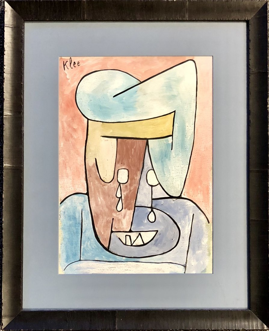 PAUL KLEE MIXED MEDIA ON PAPER V$8,500