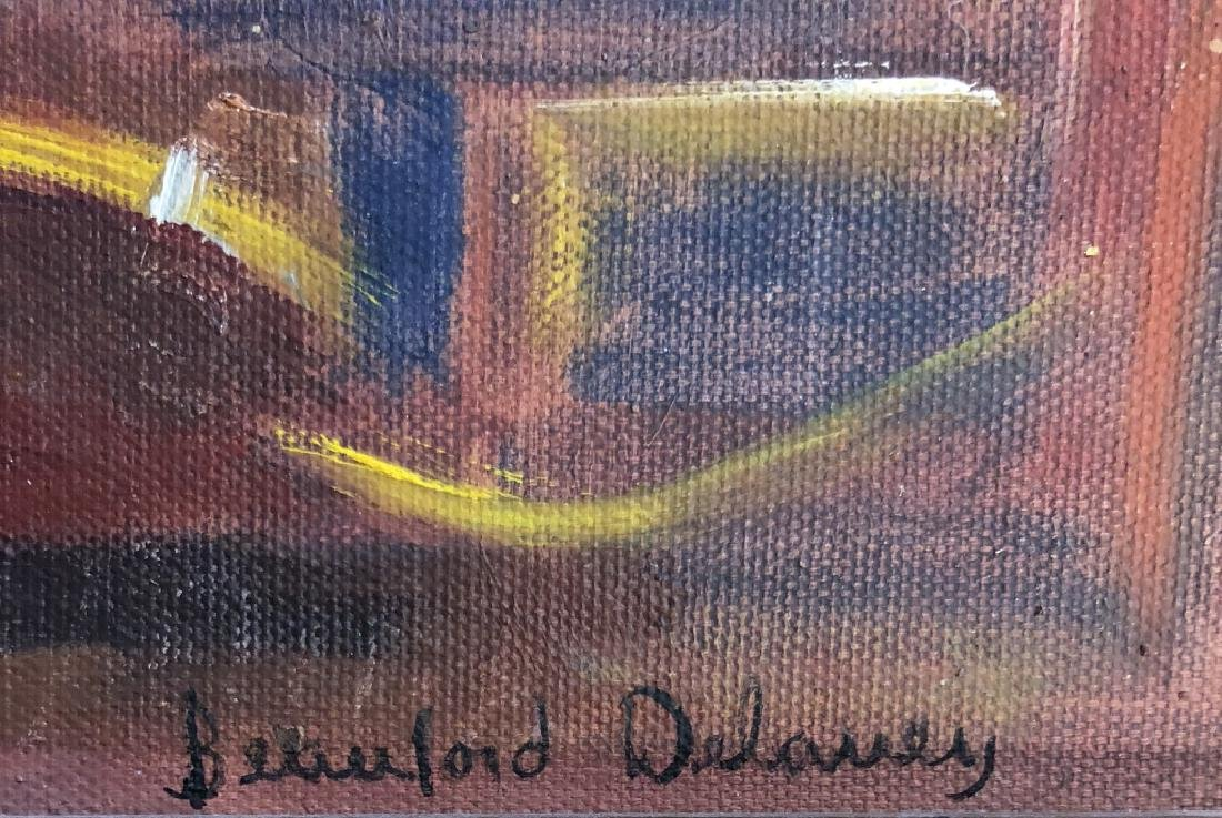 BEAUFORD DELANEY OIL ON BOARD ABSTRACT V$24,000 - 4