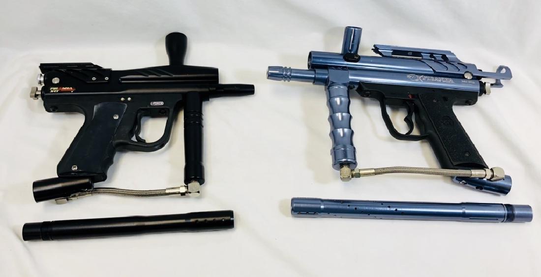 LOT OF 2 PIRANHA PAINTBALL GUNS