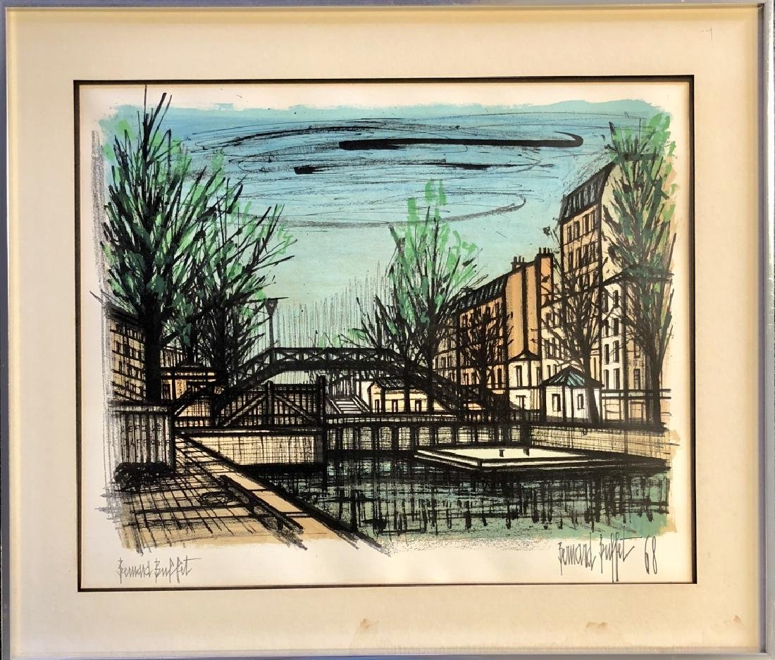 PENCIL SIGNED BERNARD BUFFET LITHOGRAPH V$2,000 - 2