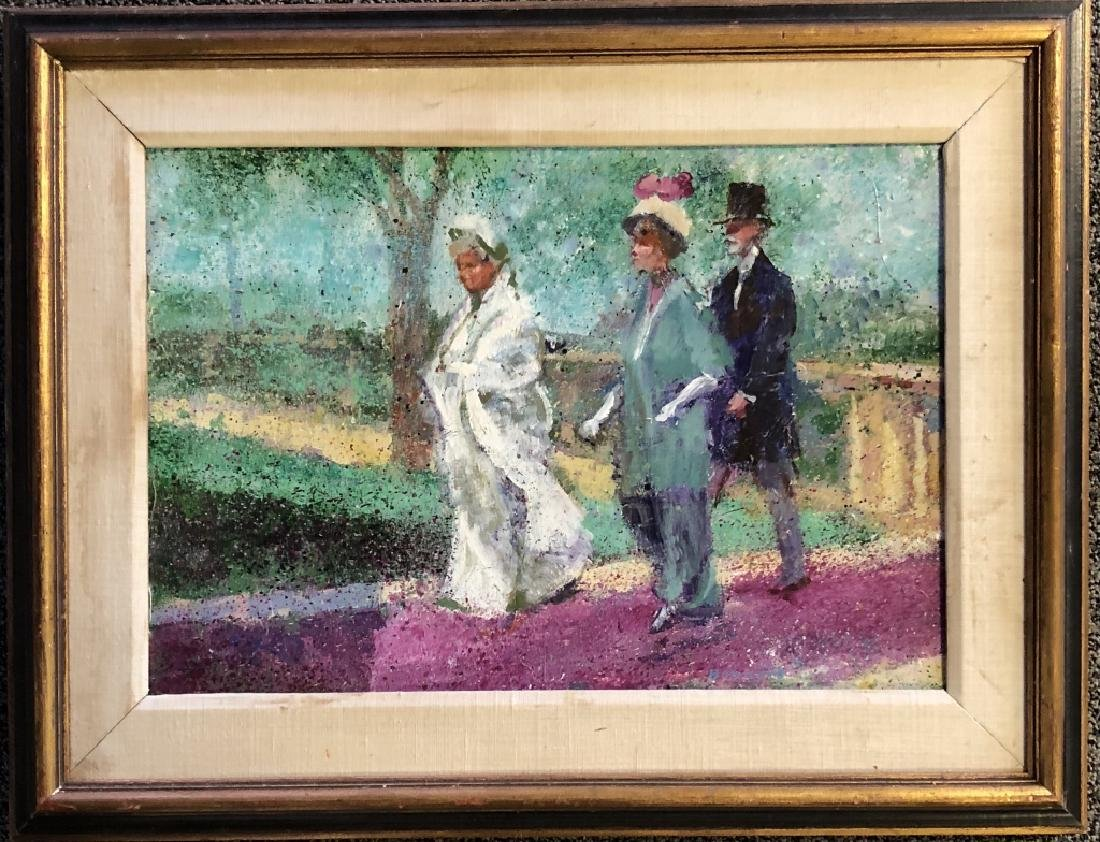 PIERRE BONNARD FIGURATIVE OIL ON BOARD V$15,000 - 2